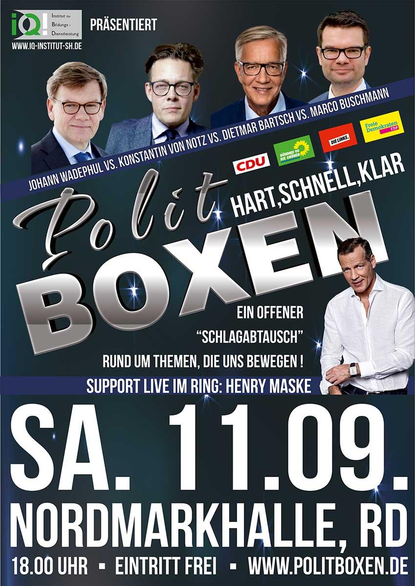 Politboxen - IQ Institut Rendsburg